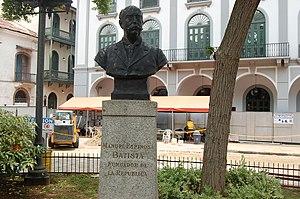 Manuel Espinosa Batista - Bust of Manuel Espinosa Batista in Casco Viejo, Panamá