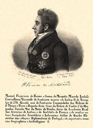 Manuel Francisco de Barros e Sousa Santarém cover