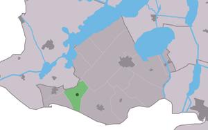 Rijs - Image: Map NL Gaasterlân Sleat Riis