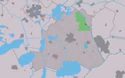 Location in the former Skarsterlân municipality
