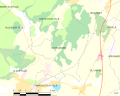 Map commune FR insee code 21240.png