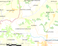 Map commune FR insee code 24007.png
