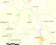 Map commune FR insee code 32306.png