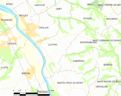 Map commune FR insee code 33253.png