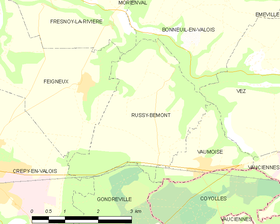 Map commune FR insee code 60561.png