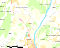 Map commune FR insee code 71052.png