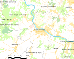 Map commune FR insee code 87001.png
