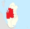 Map of Al-Shahaniya Municipality.png
