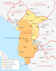 Cartina Albania Fisica.Albania Wikipedia