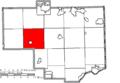 Map of Columbiana County Ohio Highlighting Hanover Township.png
