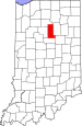 Map of Indiana highlighting Miami County.svg