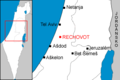 Map of Rechovot cs.png