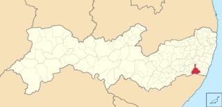 Água Preta Municipality in Northeast, Brazil