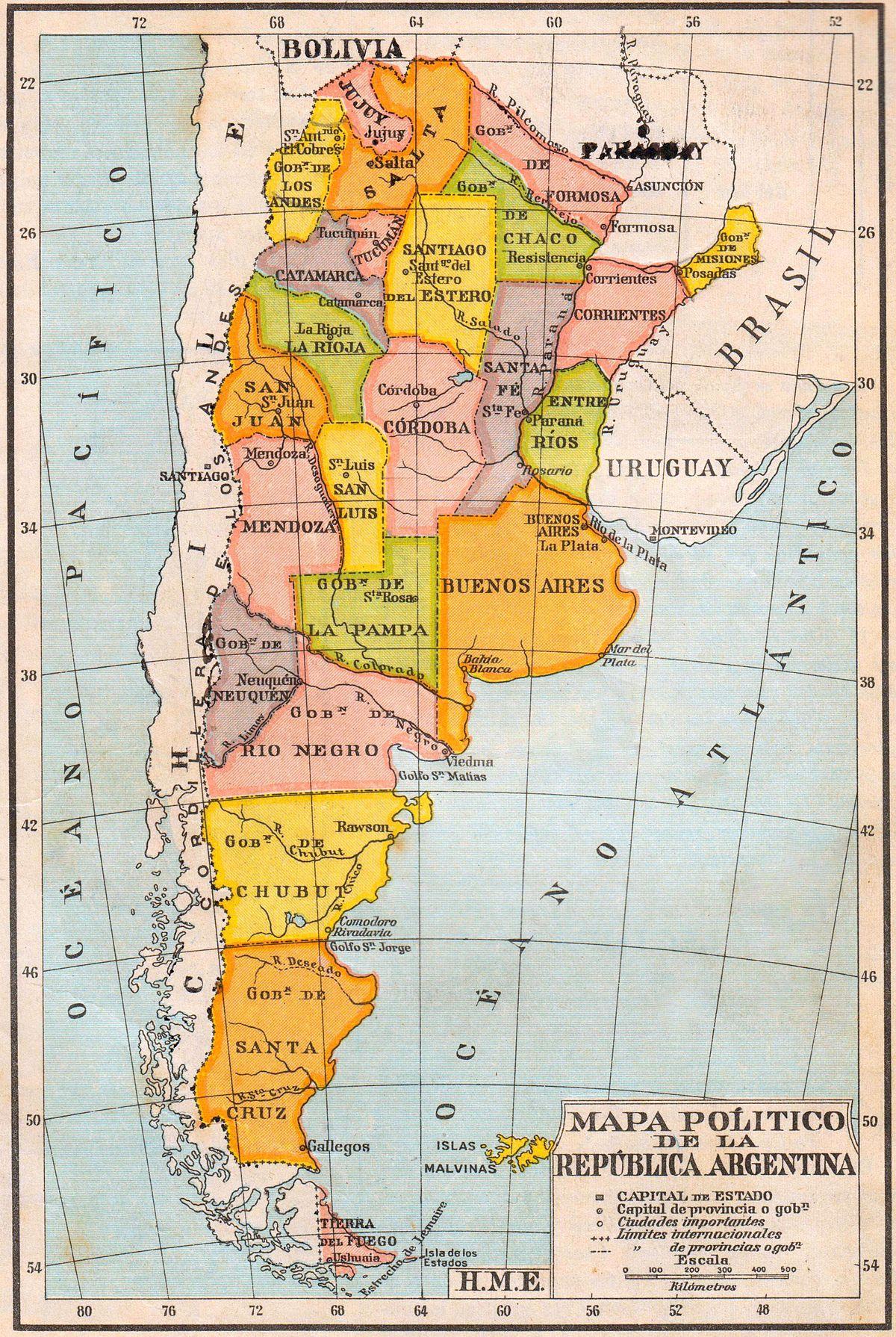 Territorio nacional (Argentina) - Wikipedia, la