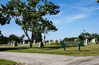 National Register of Historic Places listings in Marlborough, Massachusetts - Image: Maplewood Cemetery