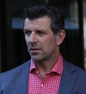 Marc Bergevin French Canadian professional hockey defenceman