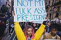 March against Trump, New York City (30833774892).jpg