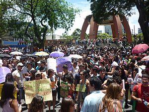 2013 in Costa Rica - Image: Marcha de las putas en Costa Rica, 2011 26