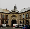 Marchiennes la Mairie vue de la Rue Corbineau.jpg