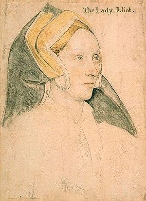 Thomas Elyot - Portrait of Margaret, Lady Elyot