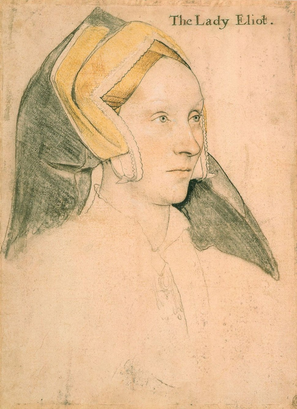 Margaret, Lady Elyot by Hans Holbein the Younger