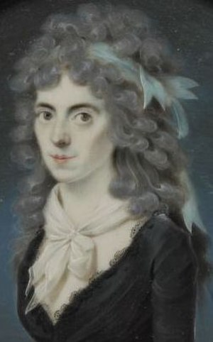 Maria Petronella Woesthoven - Maria Woesthoven, by Leonardus Temminck