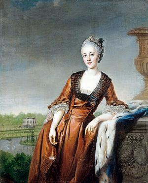 William, Count of Schaumburg-Lippe - William's wife Marie Barbara Eleonore