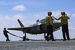 Marines make progress with F-35B during OT-1 150521-M-GX379-029.jpg