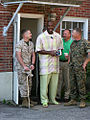 Mario Williams visits with the Marines 070301.jpg