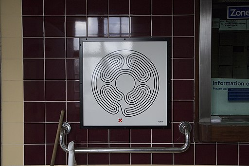 Mark Wallinger Labyrinth 10/270, Foto: Urheber © Jack Gordon