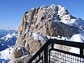 Marmolada view from top mountain(3432m) and passo San Pellegrino - panoramio.jpg