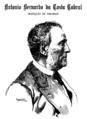 Marquês de Tomar, Roque Gameiro - A Comedia Portugueza (7Set1889).png