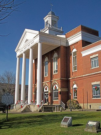 Marshall County, West Virginia - Image: Marshall County Courthouse West Virginia
