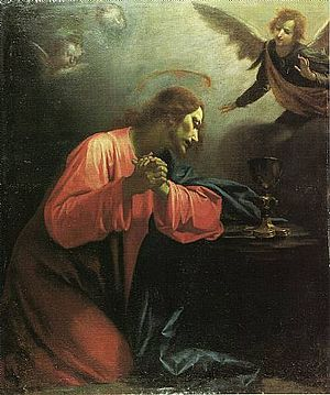 Giovanni Martinelli (painter) - Image: Martinelli Cristo in preghiera