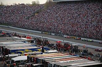 Martinsville Speedway - 2006 DirecTV 500 Finish