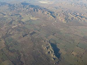 Mason Valley (Nevada) - 2014 aerial photo of Mason Valley