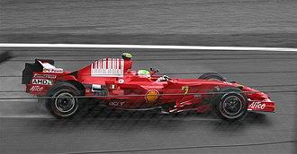 2008 Italian Grand Prix - Felipe Massa narrowed his gap to Lewis Hamilton in the Drivers' Championship