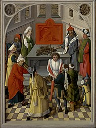 Master of the Gathering of the Manna - The Offering of the Jews - Google Art Project.jpg