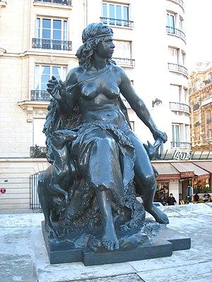 Mathurin Moreau - L'Océanie, by Mathurin Moreau