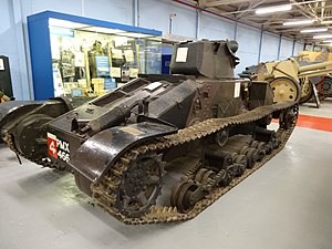 Matilda I (tank) - Image: Matilda I tanks in the Bovington Tank Museum