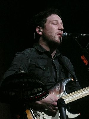 Matt Cardle - Cardle performing at Hammersmith Apollo, March 2012.