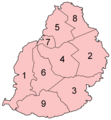Mauritius districts numbered.png
