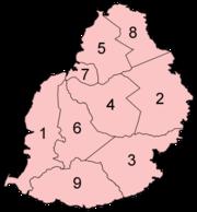 Distritos de Mauricio