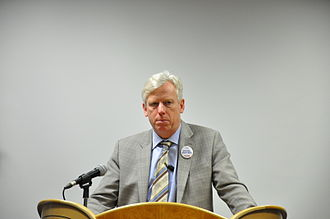 David Miller (Canadian politician) - Miller talks at Humber College, March 2010.