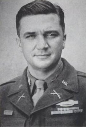 395th Infantry Regiment (United States) - Lt. Col. McClernand Butler, commander of the 395th Infantry in World War II.