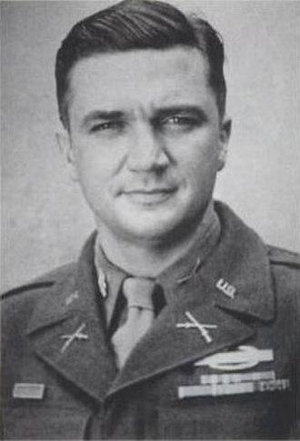 395th Infantry Regiment (United States) - Lt. Col. McClernand Butler, commander of the 395th Infantry in World War II.