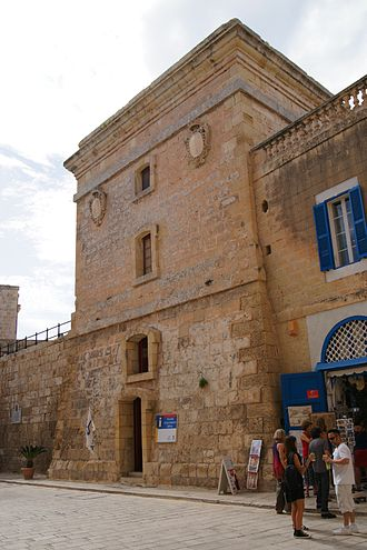 De Redin towers - Torre dello Standardo, an 18th-century tower whose design is similar to the De Redin towers
