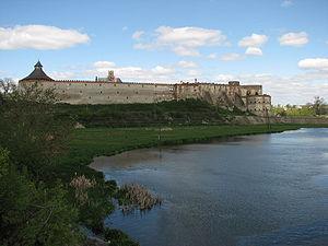 Medzhybizh Fortress - Image: Medzhybizh Castle 6