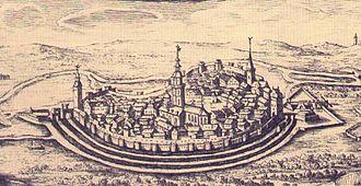 Meiningen - Meiningen in 1676