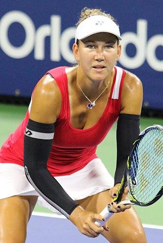 Nicole Melichar - Melichar at the 2016 US Open